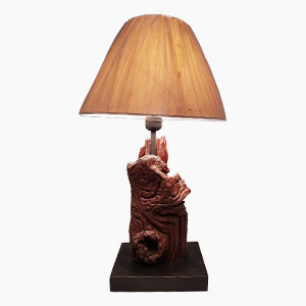 Small Jatoba lamp