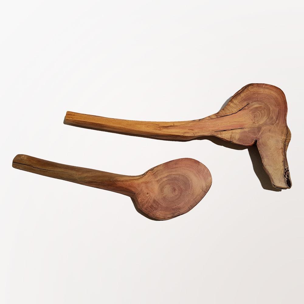 Esculturas Osso - par (2 unidades)